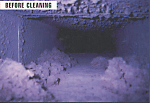 Air Duct Cleaning - Before | New Jersey | HS Restoration
