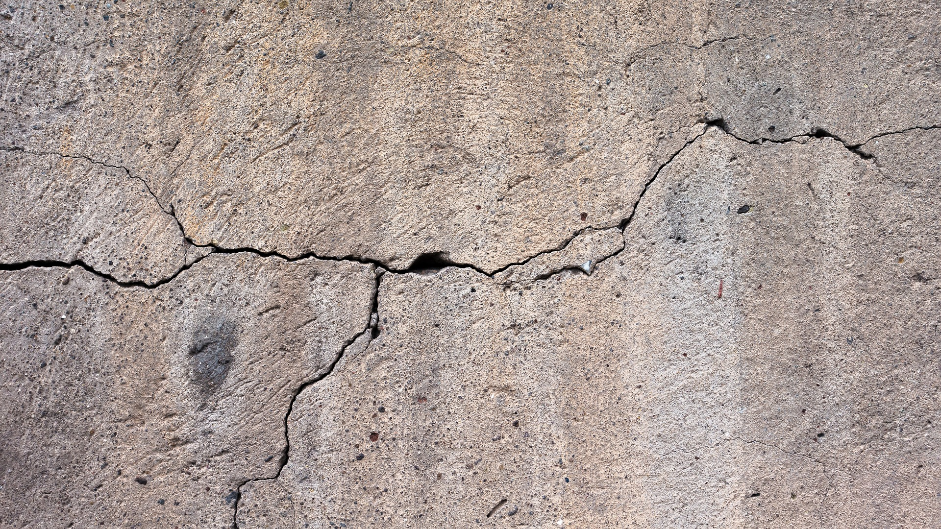 Don't put off foundation repairs! One little crack can become a big problem.
